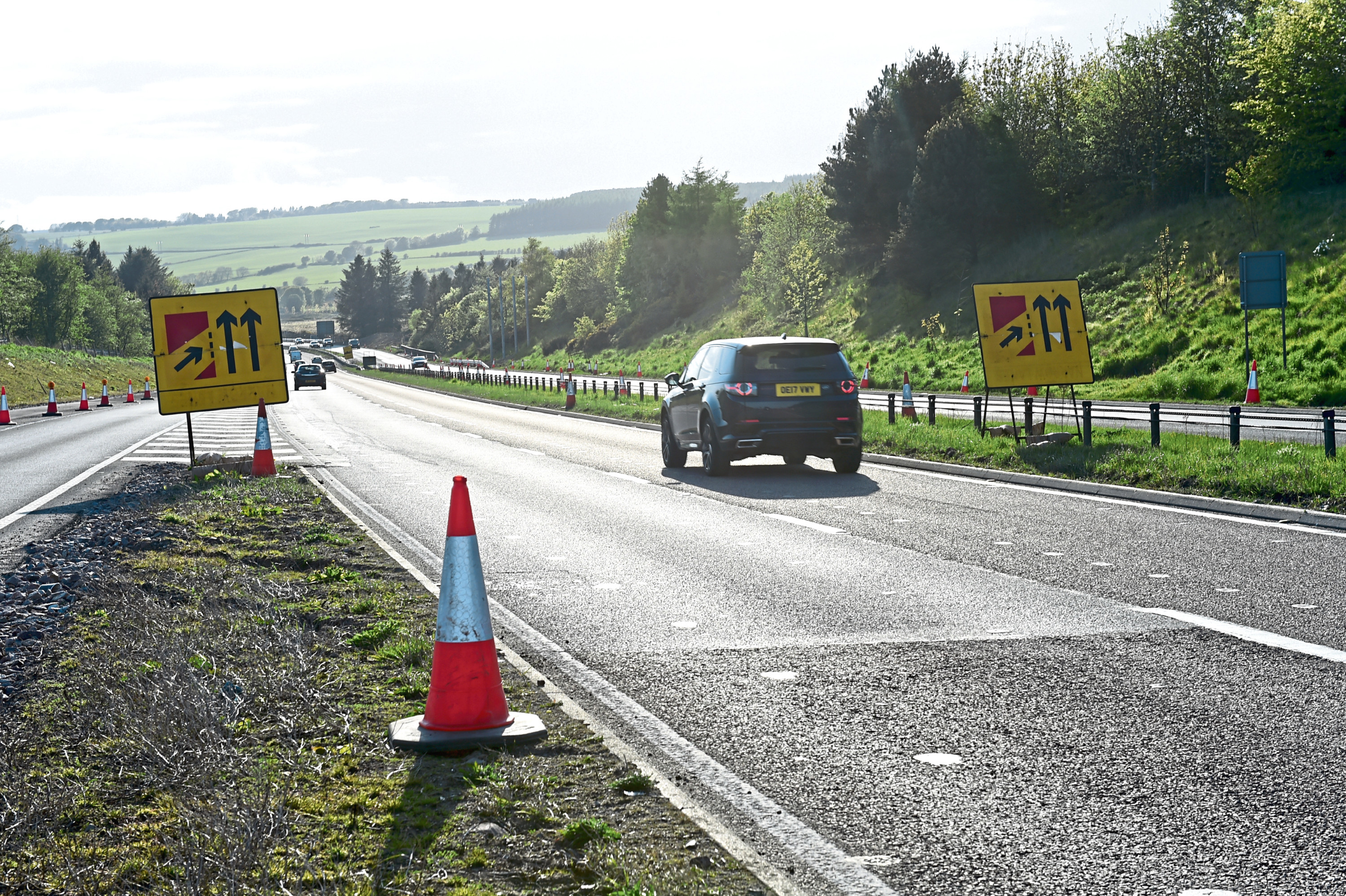 Roadworks are going to be starting at Cowie Bridge