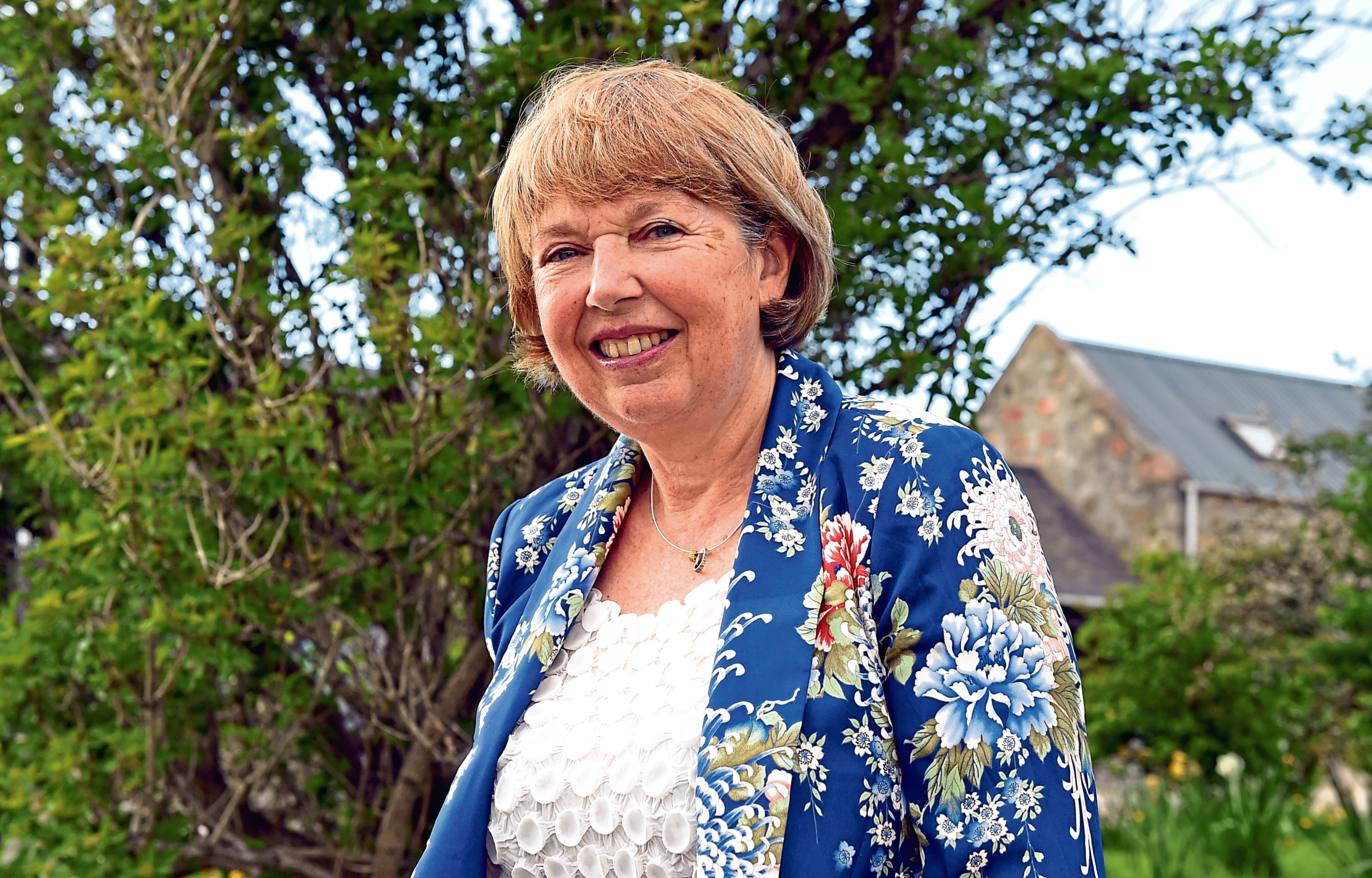 Mary Lennox,is Chair of the Banchory Community Council.