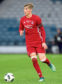 Dean Campbell in action for Aberdeen Under-20s.