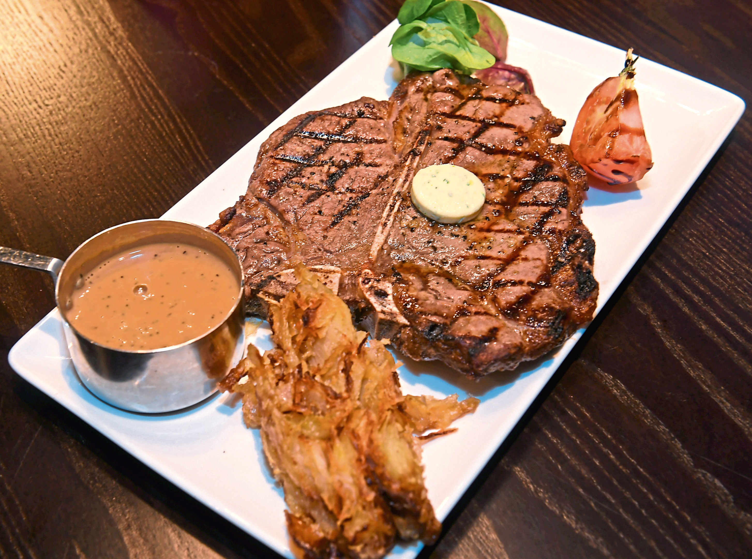 The 20z T-bone steak
