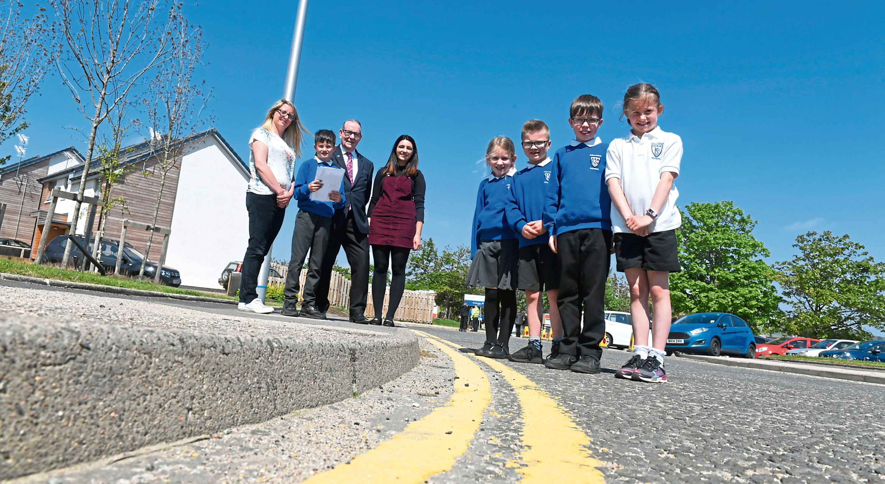Park Smart was launched at Kellands School in Inverurie