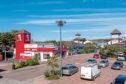 Haudagain Retail Park in Aberdeen