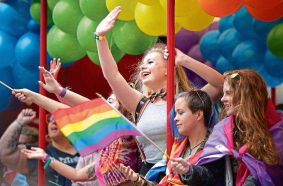 Glasgow Pride brings smiles out in people's faces. Grampian Pride organisers hope to get the same reaction in Aberdeen