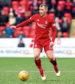 17/03/18 LADBROKES PREMIERSHIP  ABERDEEN V DUNDEE (1-0)  PITTODRIE STADIUM - ABERDEEN  Niall McGinn in action for Aberdeen