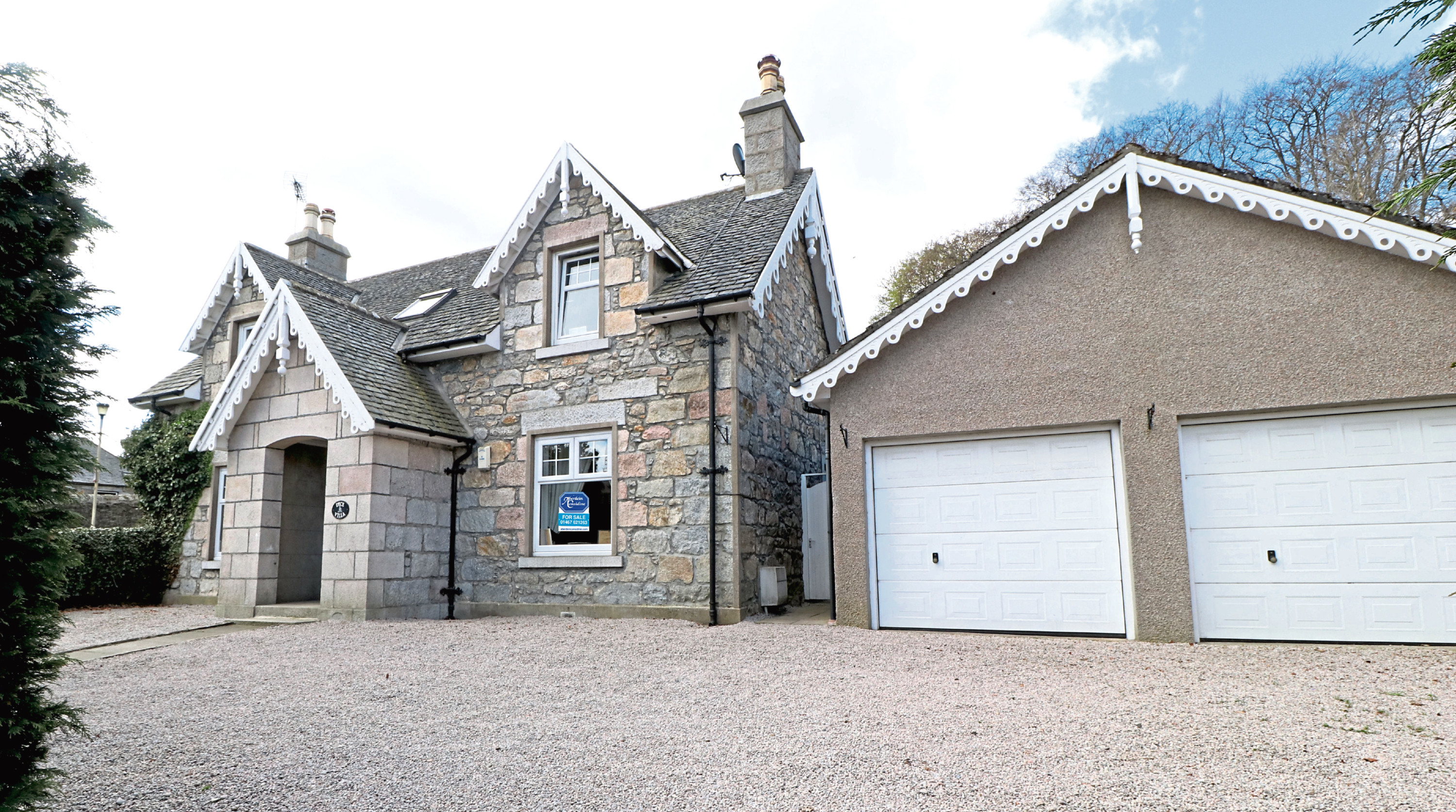 Dyce Villa in Inverurie is on the market for offers over £355,000