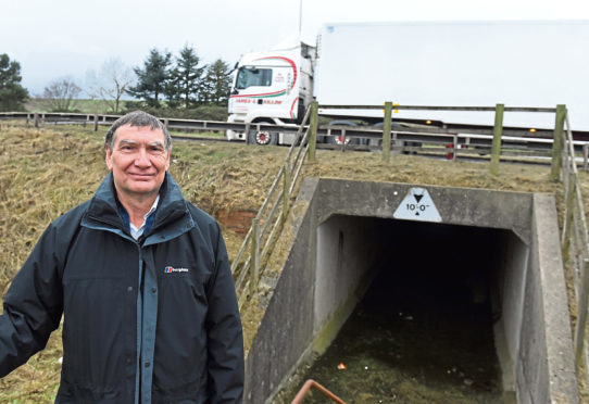 The Newtonhill, Muchalls and Cammachmore Community Council are looking to get the underpass reopened under the A90 at Newtonhill