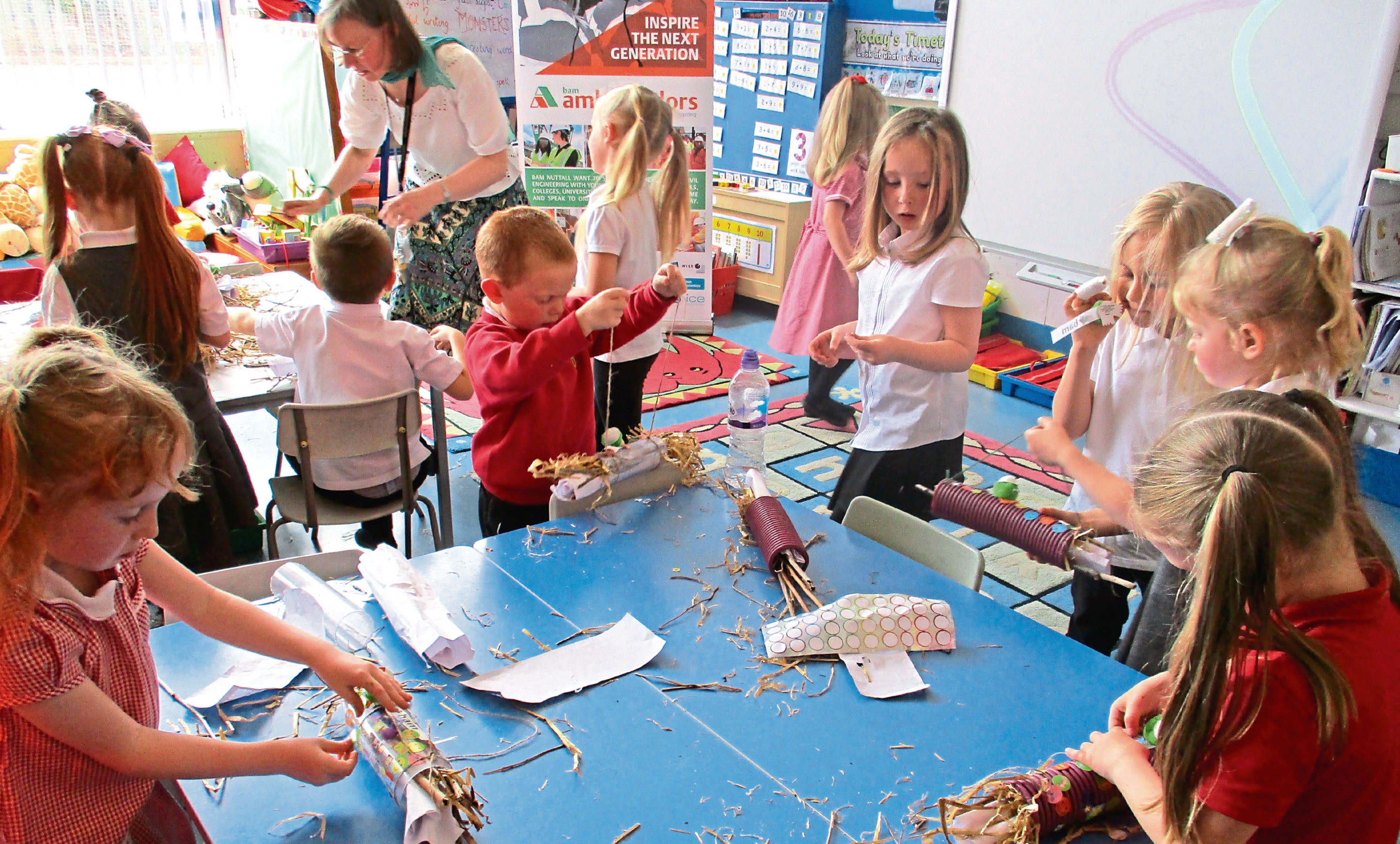 Pupils at the school took part in a series of workshops.