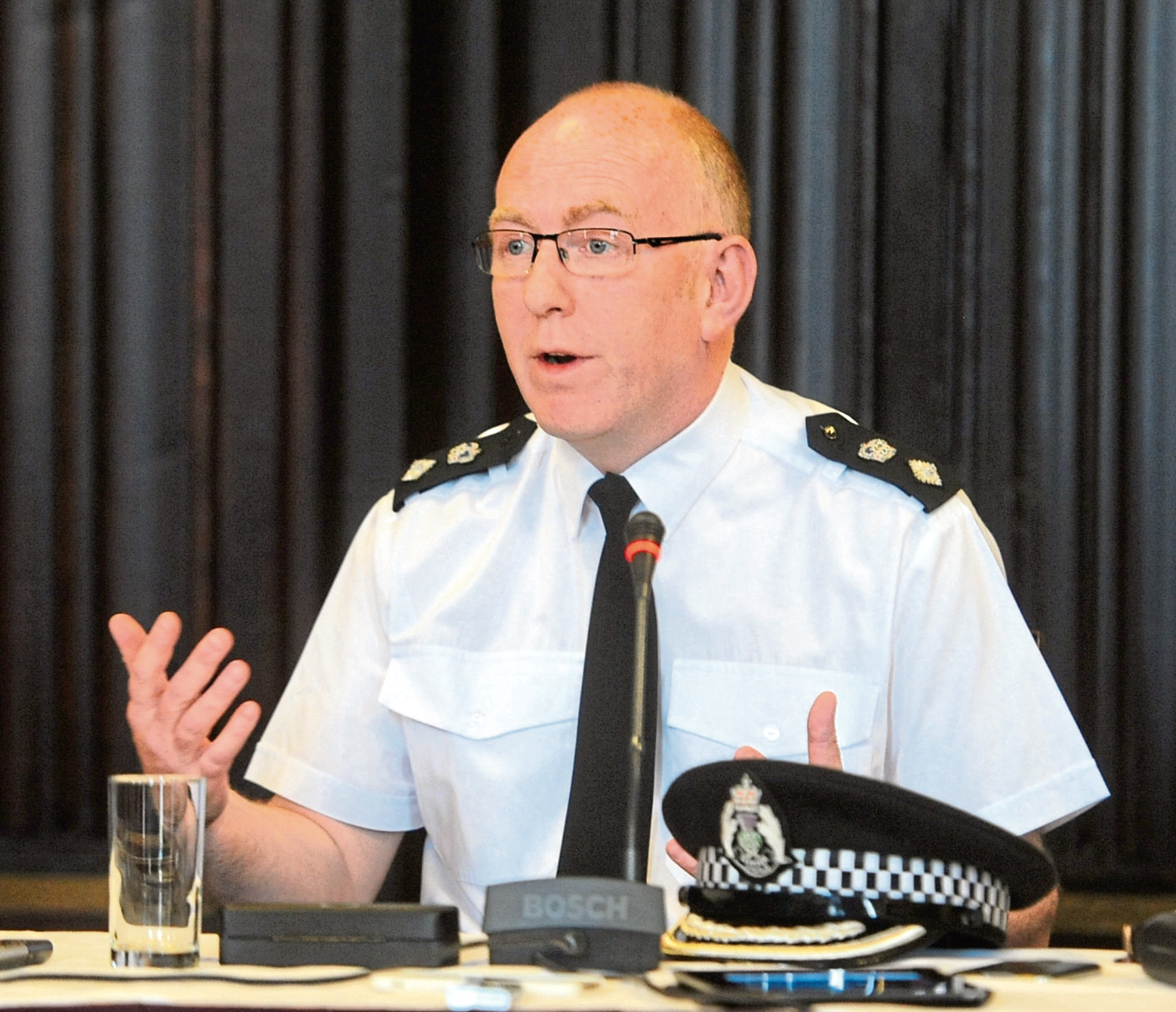 Chief Superintendent Campbell Thomson
