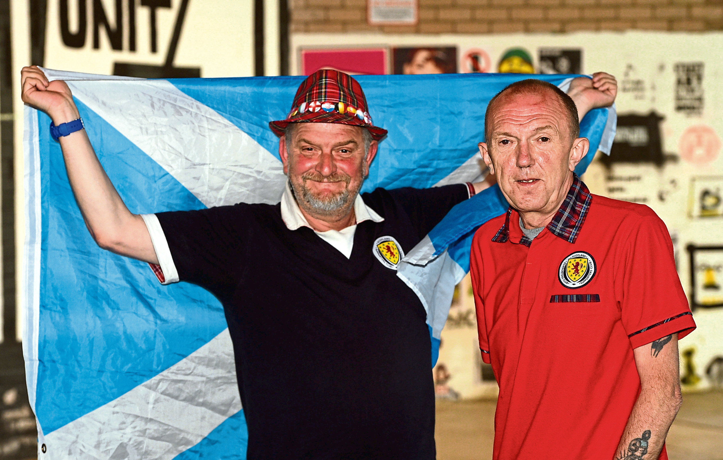 Brian Dunn and Les Andrew have traveled to Peru for Scotland's friendly.