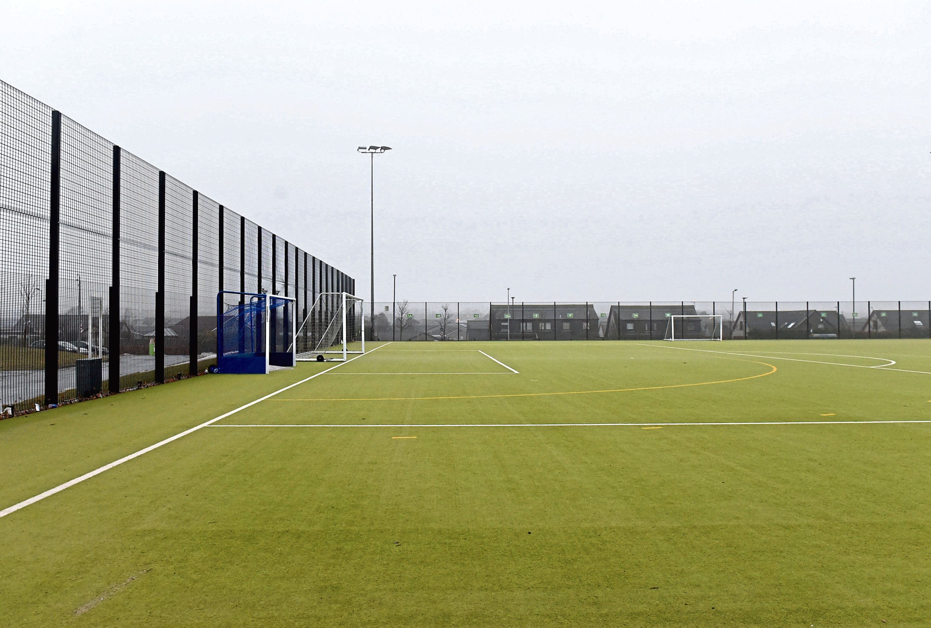 The 2g pitch is getting replaced in the summer