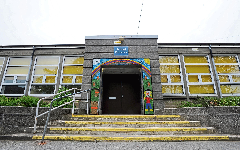 Vandals struck at Cornhill Primary School