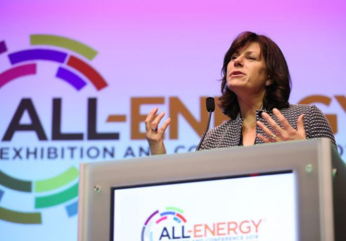 Claire Perry MP, UK energy minister