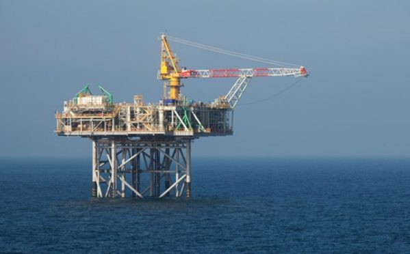 Nexen's Golden Eagle platform