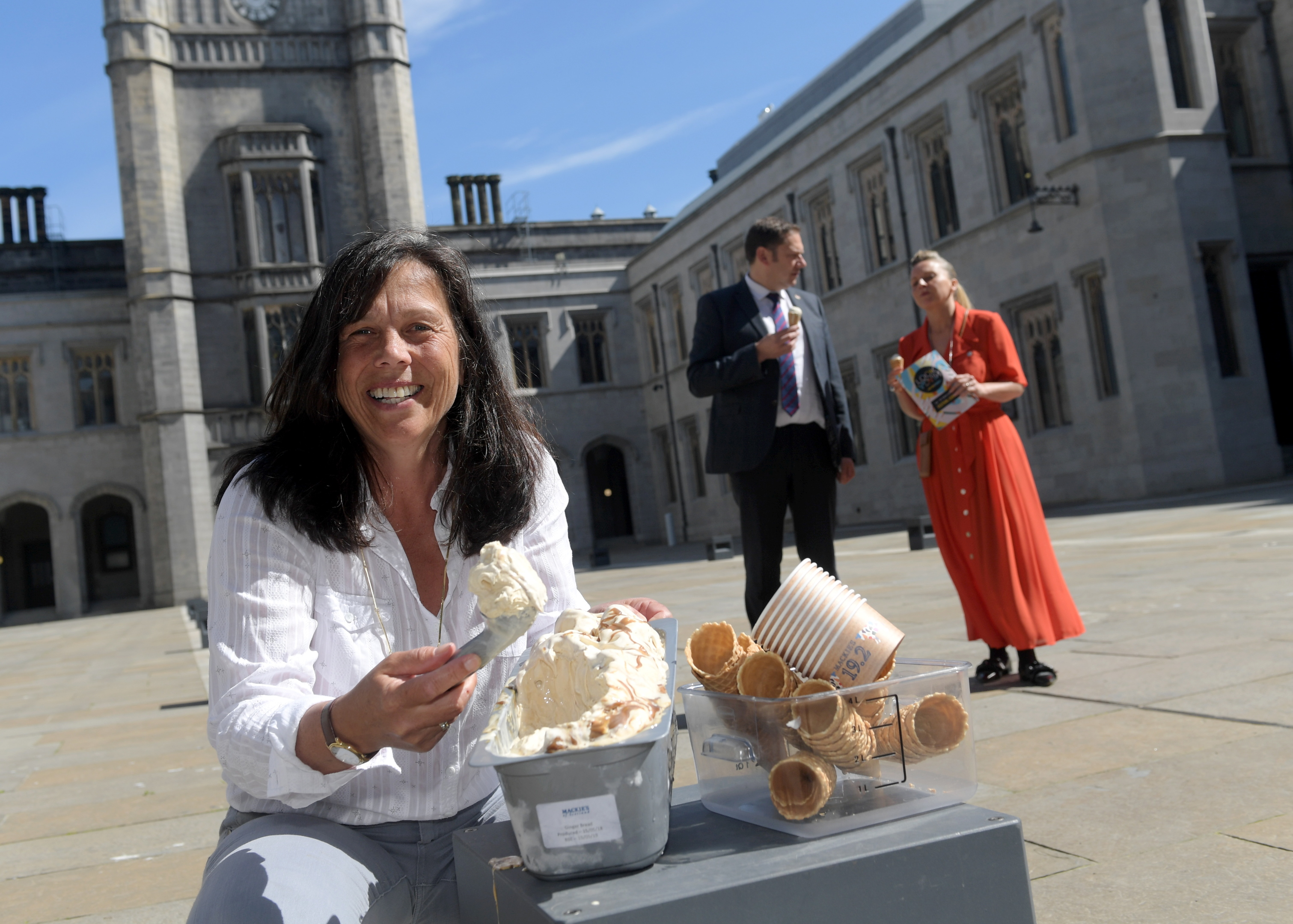 The festival has teamed up with Mackie's who will launch a brand new flavour of ice-cream to be dished out at one of the Look Again installations.