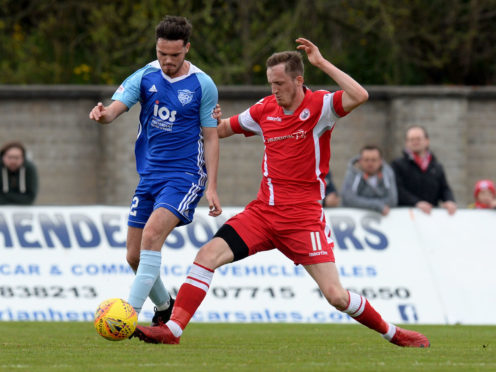 Ross Kavanagh is expected to sign for Peterhead