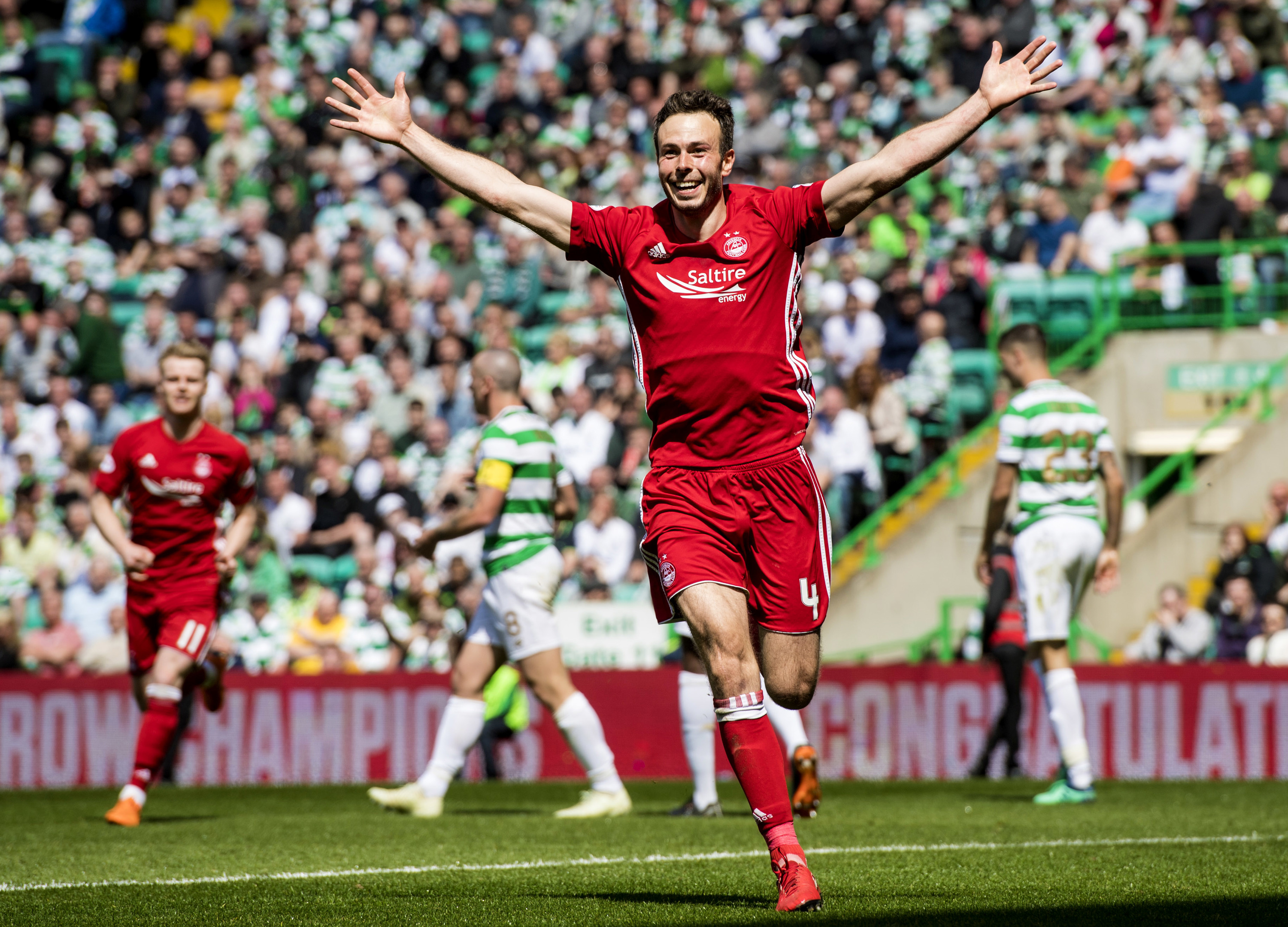 Lewis compared the game to the season-ending win against Celtic in 2018.
