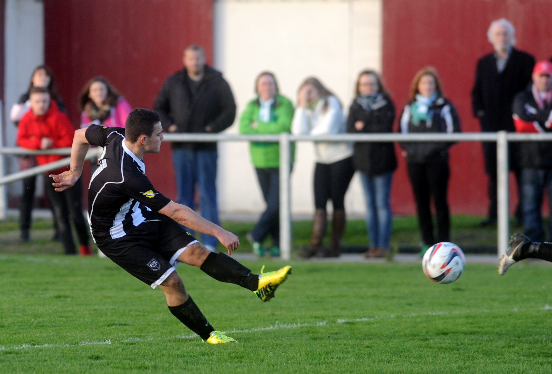 Scott Barbour in action during his first spell with Fraserburgh. Picture by DARRELL BENNS.