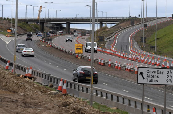 The slip roads at the Charleston Flyover are due to be closed next weekend