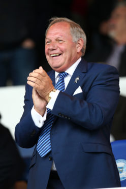 Peterborough United director of football Barry Fry.