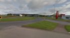Invernettie roundabout in Peterhead