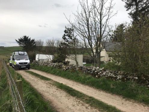 Police in New Aberdour