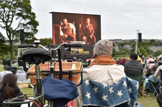 A previous opera event at Aberdeen's Duthie Park