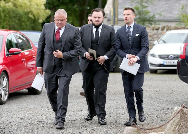 Conleth Hill, John Bradley and Joe Dempsie