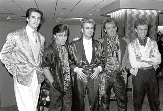 Ross is rumoured to be unveiled as the new singer for Spandau Ballet
