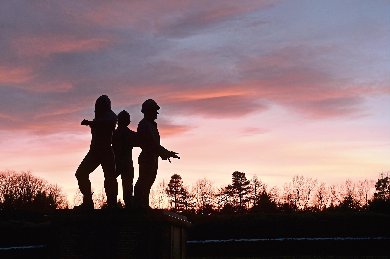 The Piper Alpha memorial in Hazlehead Park.