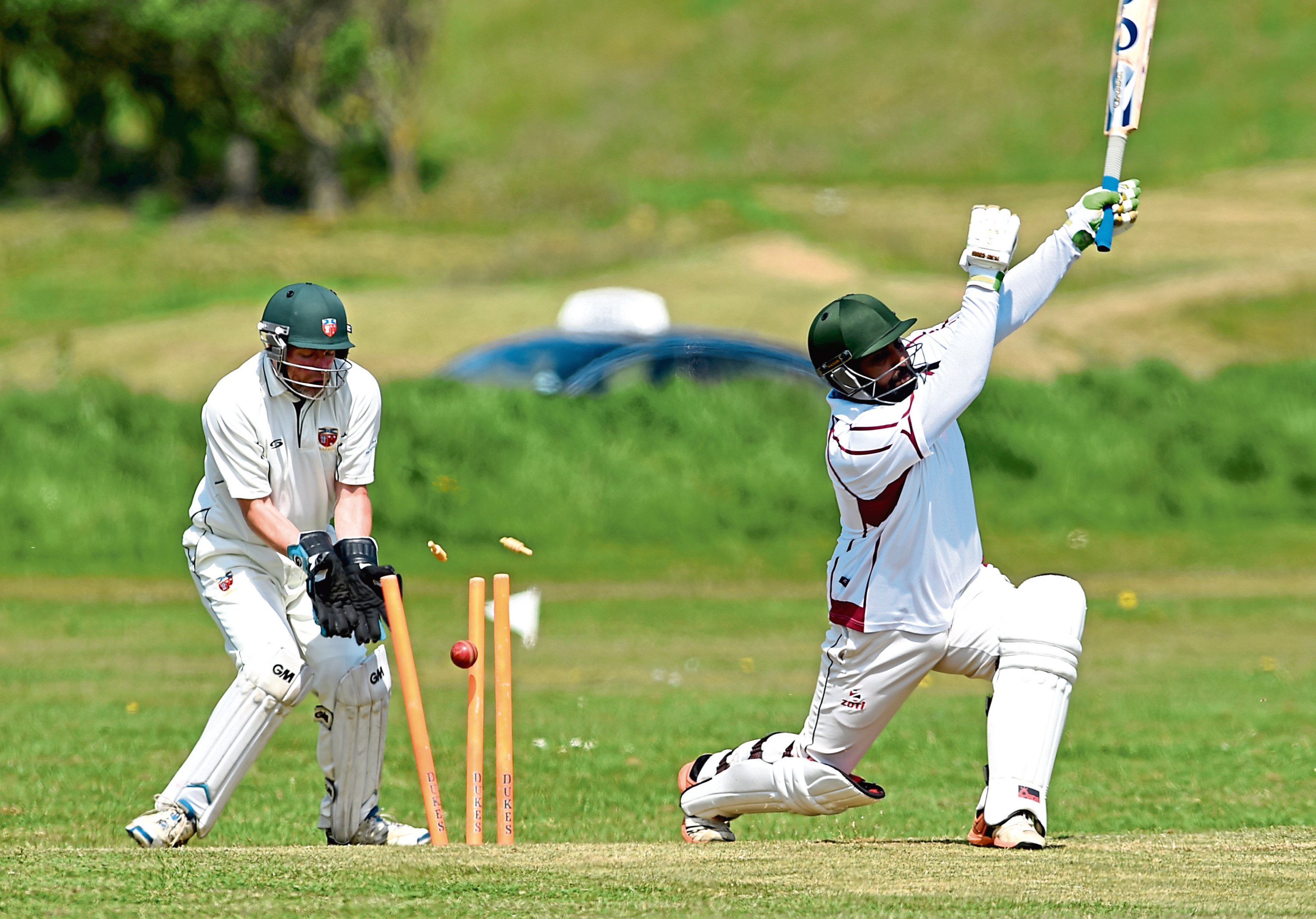 Will there be any competitive cricket this summer?  Picture by Kenny Elrick