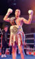 Lee McAllister after his win against Ishmael Tetteh at the Beach Ballroom in October.     Picture by Kami Thomson    20-10-17