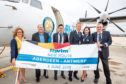 The new flights to Belgium were launched yesterday.