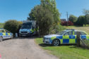 Emergency services at Waulkmill Farm