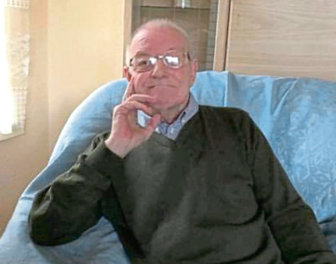 Frank Finnie, who suffered from dementia, died after a fall in Aberdeen