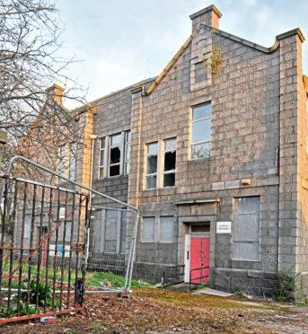 Victoria Road School in Torry