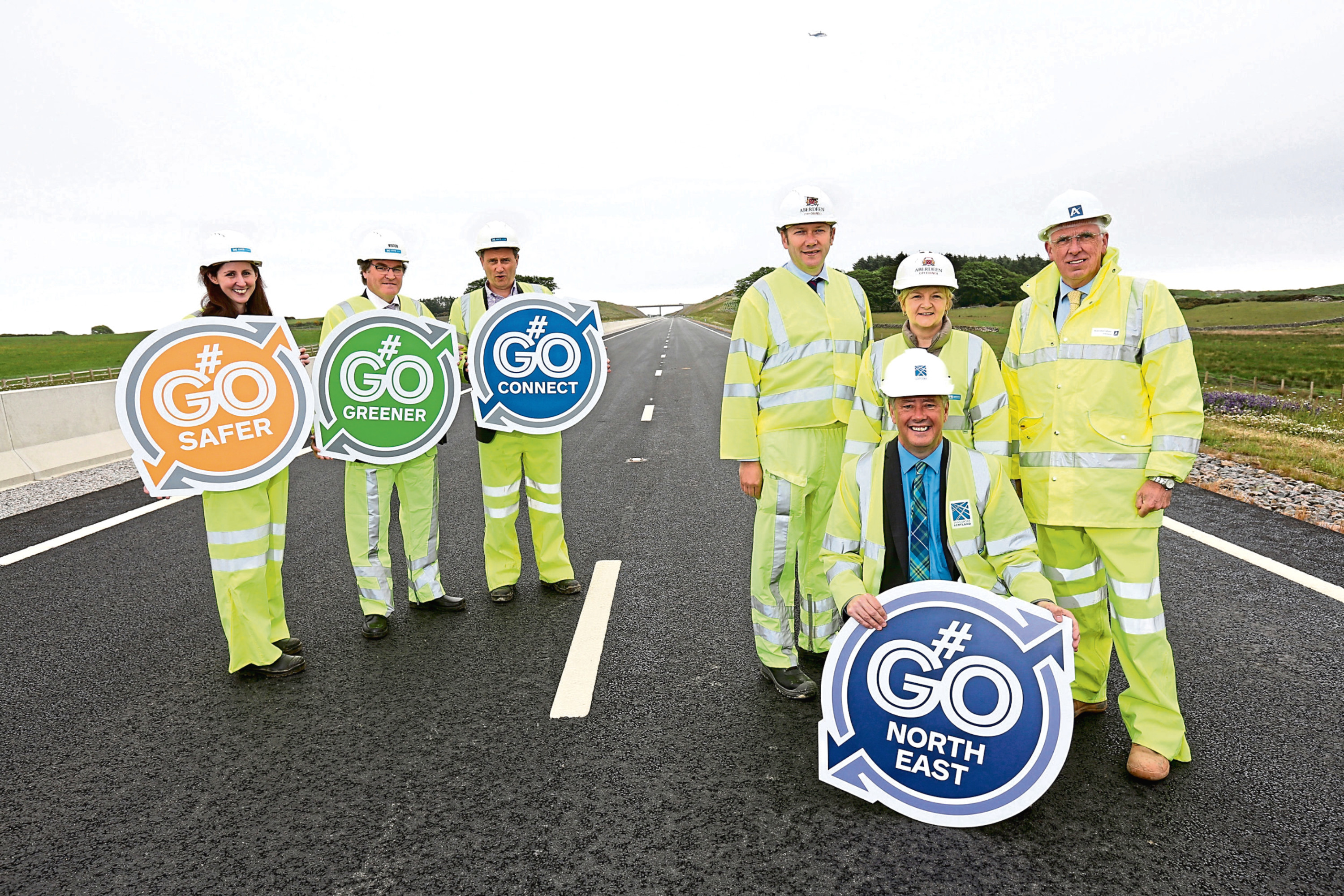 Transport chiefs prepare for the bypass opening with a new safety campaign