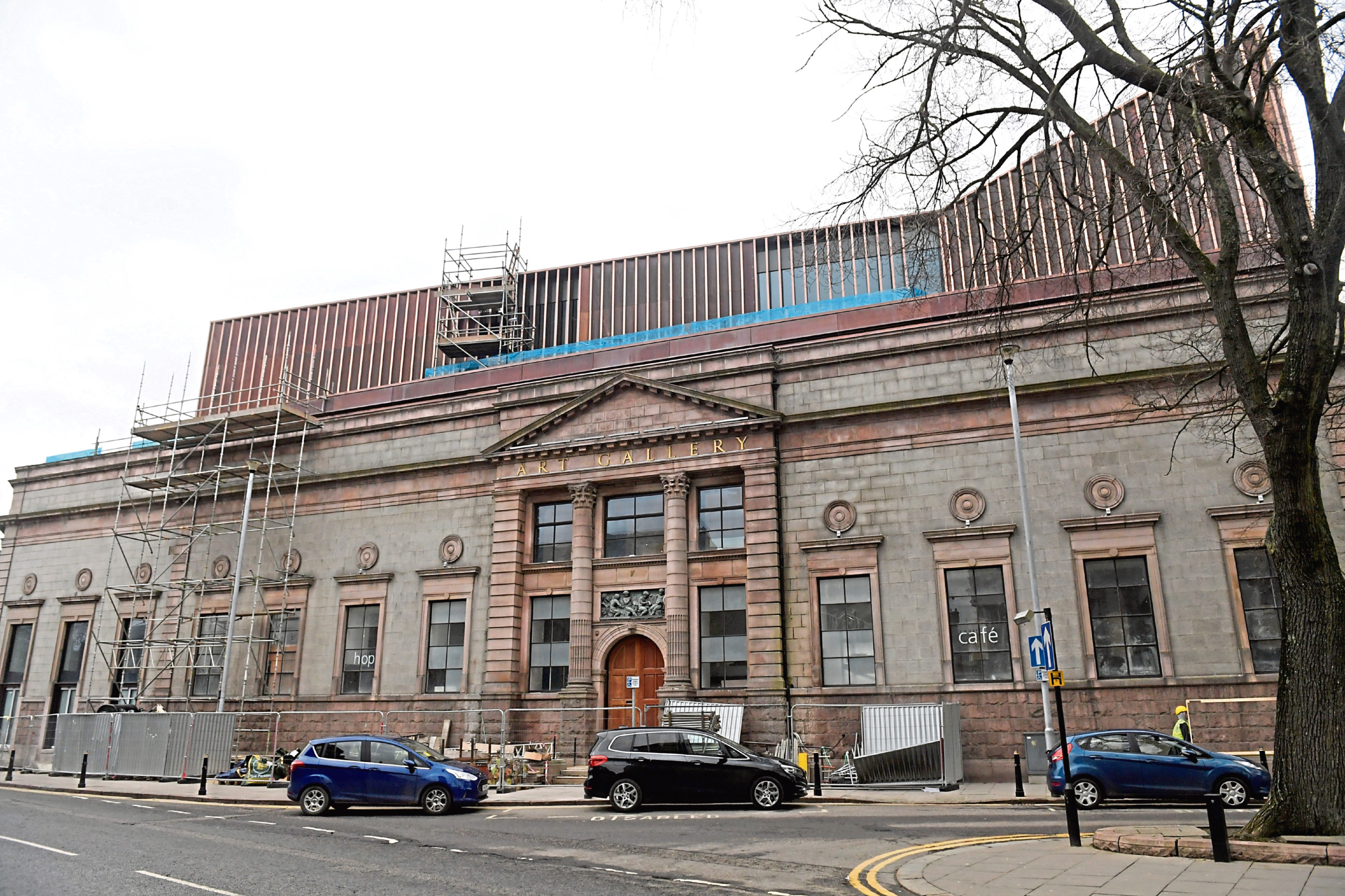 Aberdeen Art Gallery could get a new entrance as part of a makeover for the area