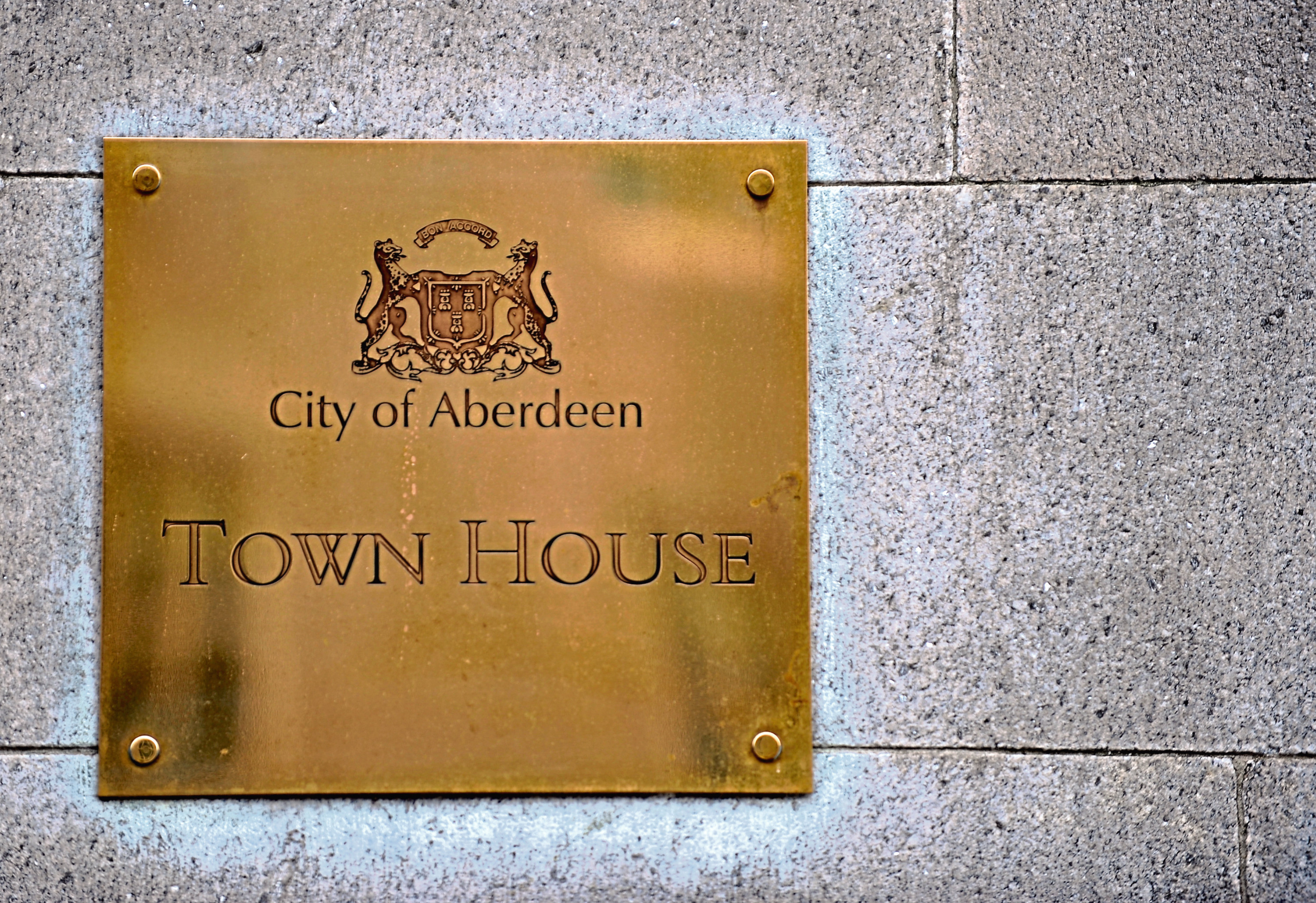 The first in-person council meeting since March took place at Aberdeen Town House
