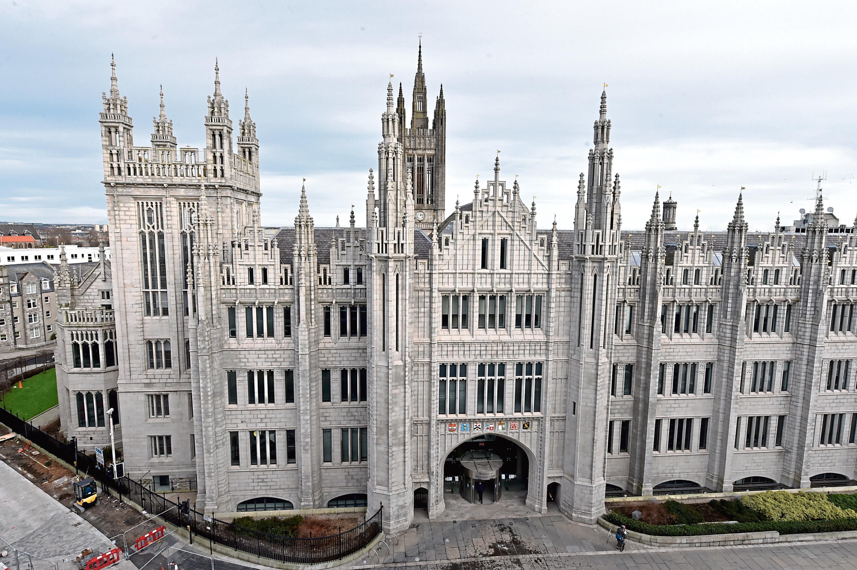 Marischal College, Aberdeen City Council's HQ