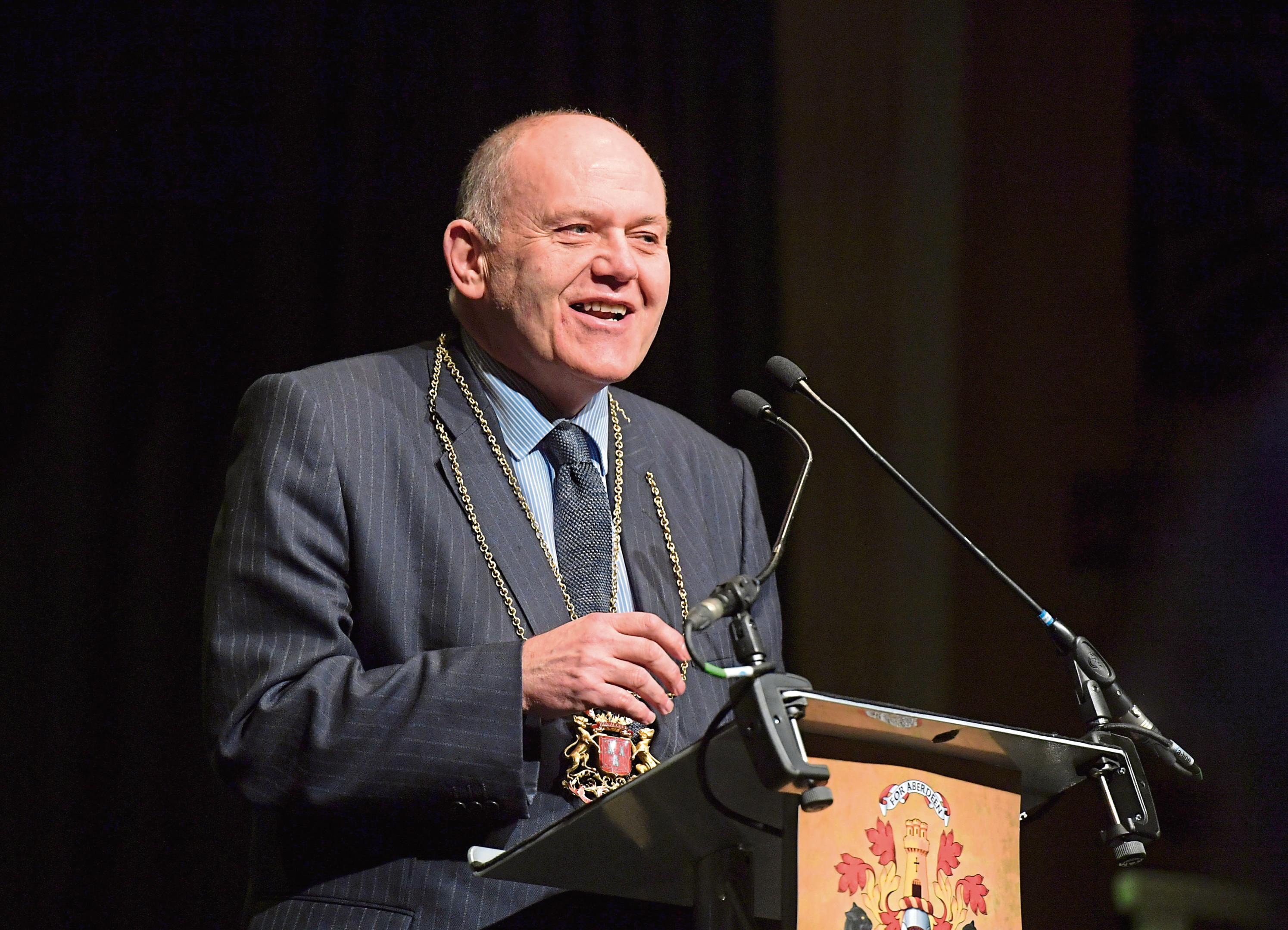 Lord Provost Barney Crockett