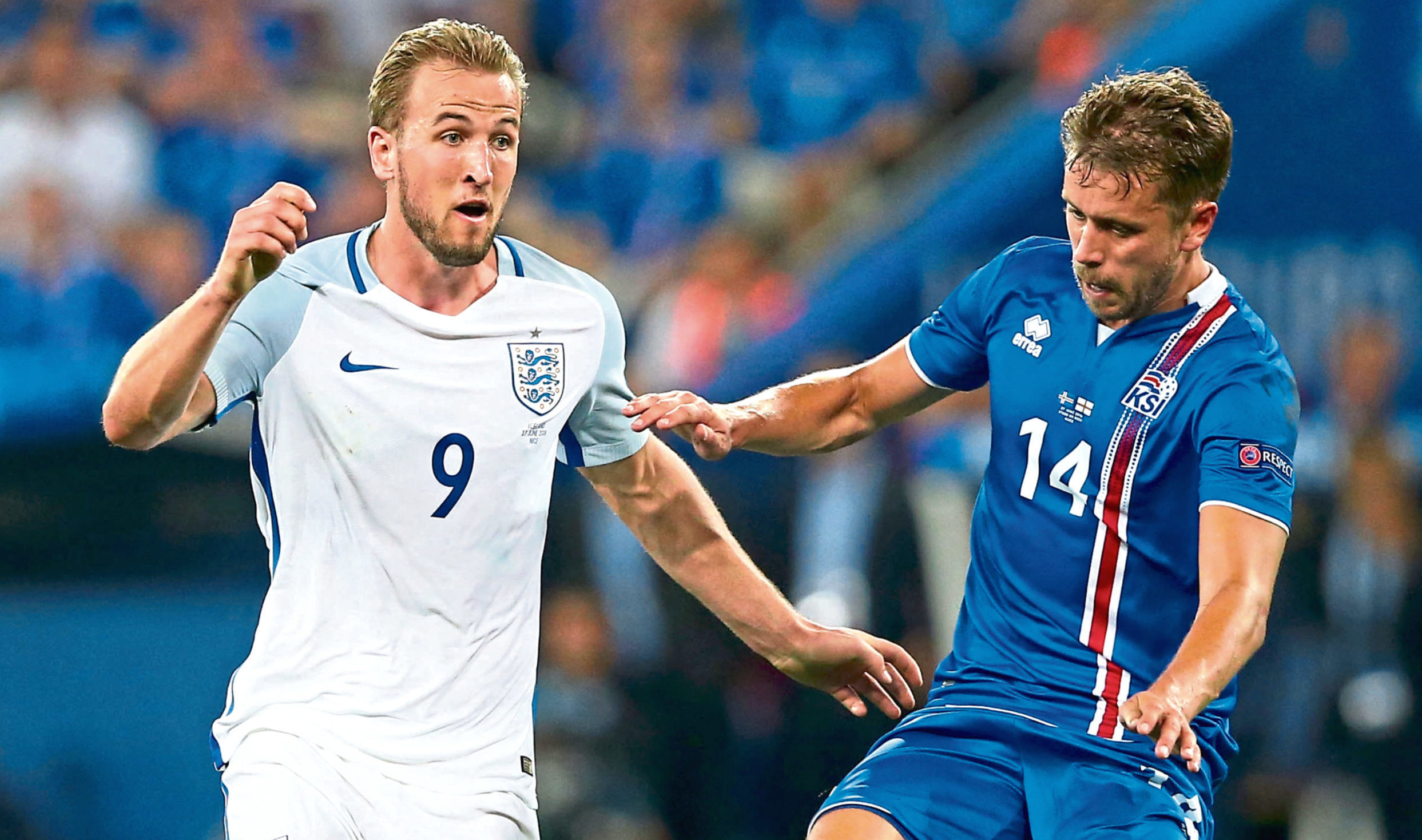 Arnason kept Harry Kane quiet when Iceland met England at the Euros
