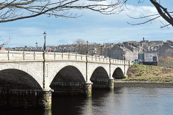 Victoria Bridge in Torry