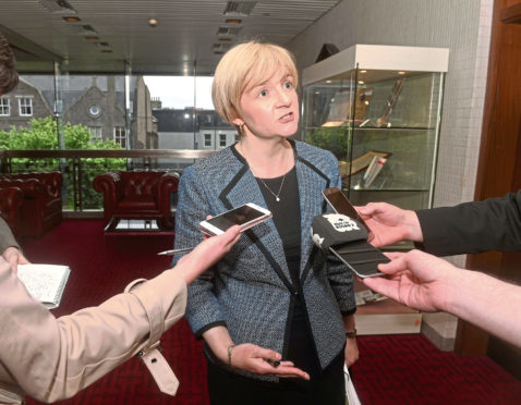 Aberdeen Labour group leader Councillor Jenny Laing