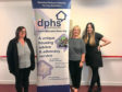 Cheryl, Shirley and Pamela of Disabled Persons Housing Service