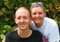 John Davie with his mum Lynne
