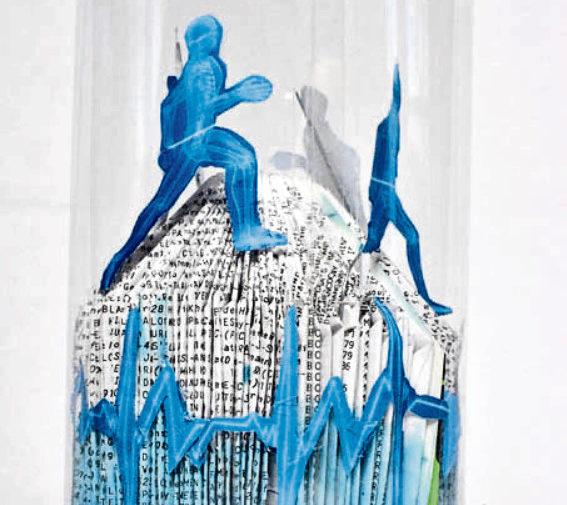 Jessica Broadrick art work which will be displayed at the Scottish Parliament.