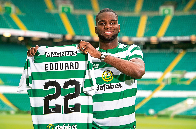 Celtic have signed striker Odsonne Edouard permanently