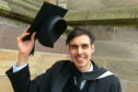 Politics graduate Michael Findlay,