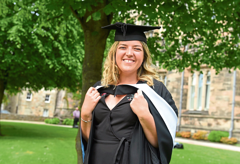 Aberdeen uni graduate Rachel Smart