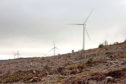 Image of wind farm in Clashindarroch Forest.